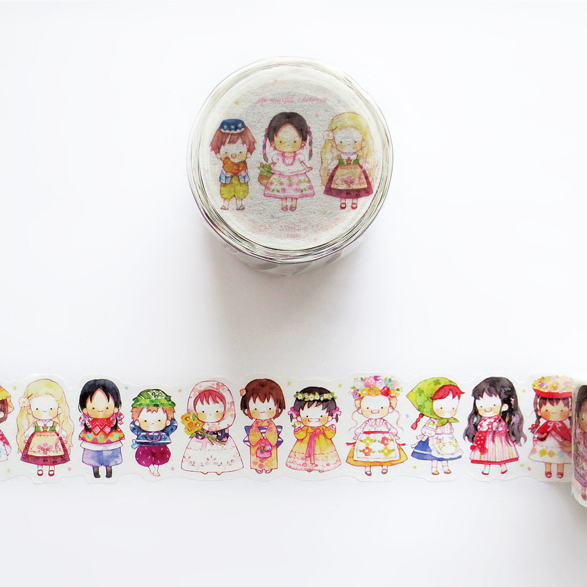Hayama Washi Tape: The World's Children 2