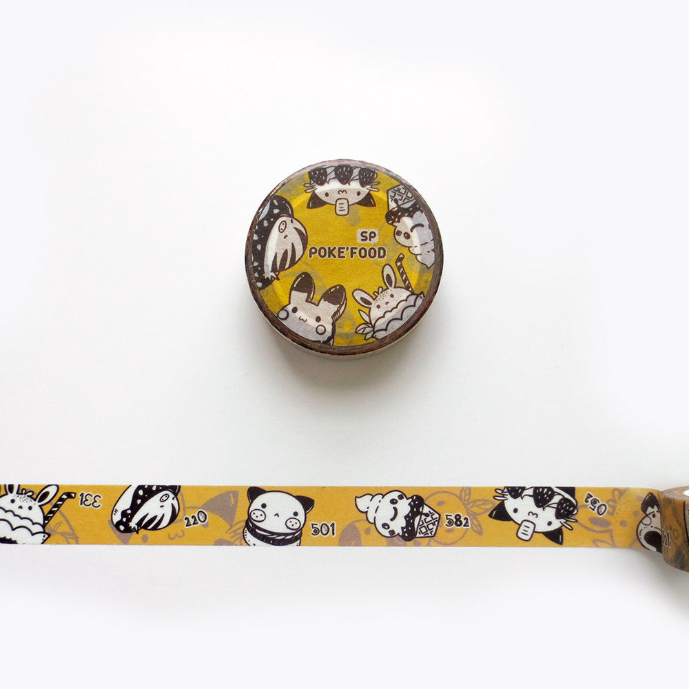 Pokemon Food Washi Tape