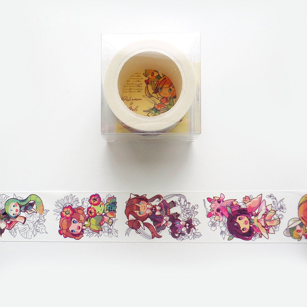 Pokemon Girls Washi Tape