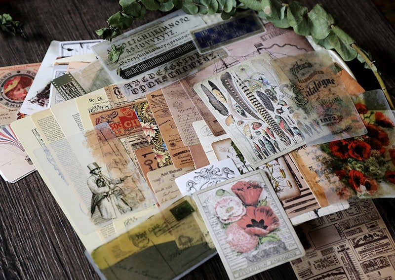 Junk Journal Ephemera Kit