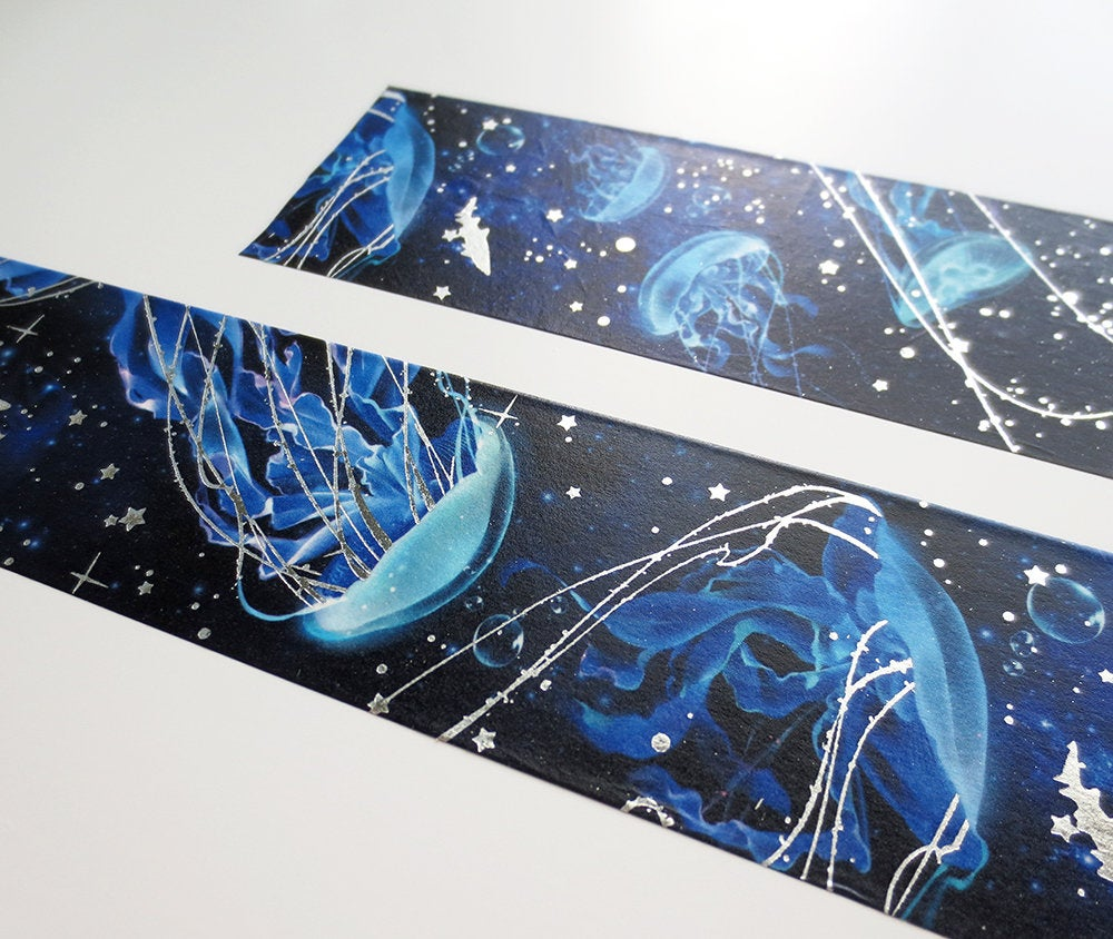 Deep Sea Moon Jelly Washi Tape