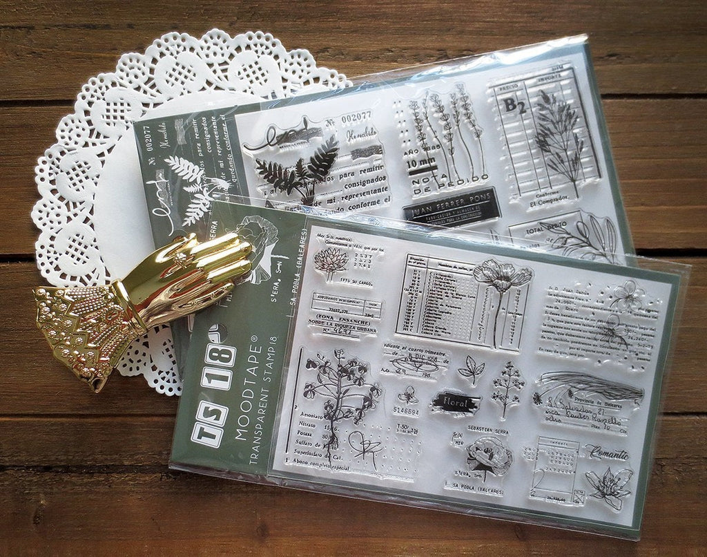 Floral Acrylic Stamp Set