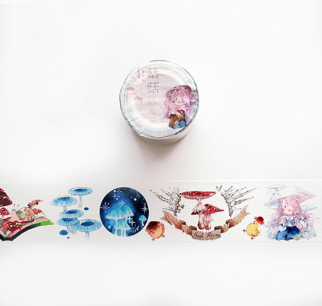 Mushroom Research Lab Washi Tape