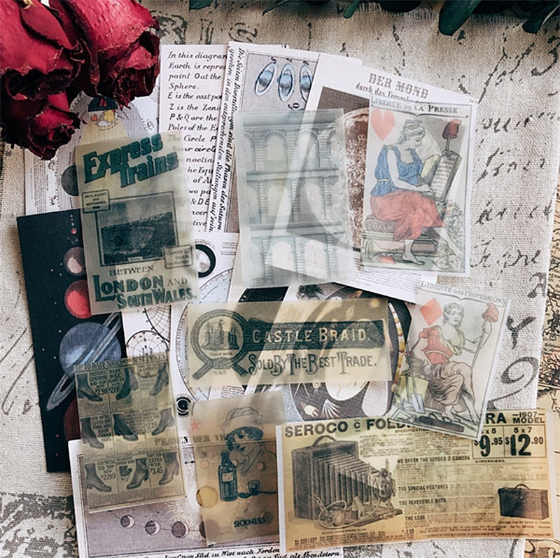 Junk Journal Ephemera Kit - Collection 5