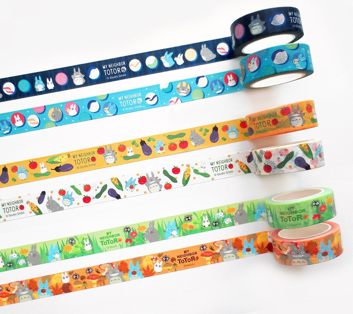 My Neighbor Totoro Washi Tape Set