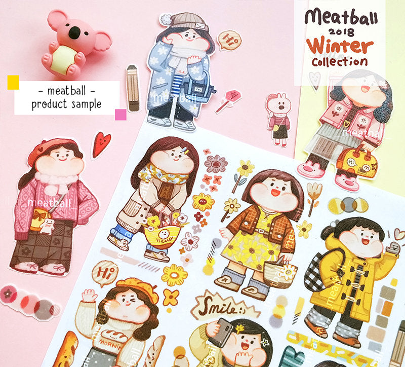 Meatball Washi Tape: Today's Outfit