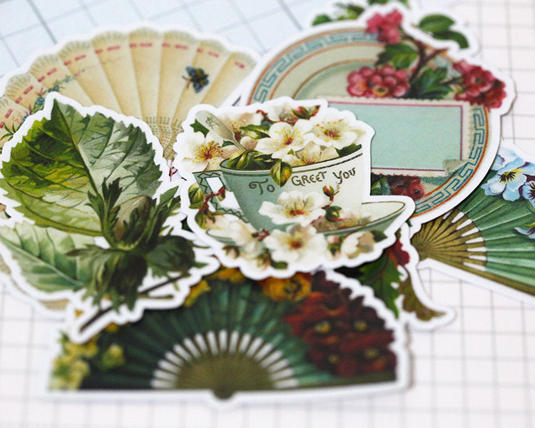 Victorian Fashion Stickers Pack