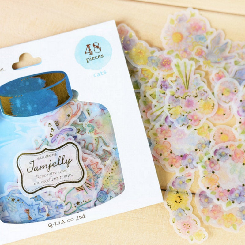 Q-Lia Jam Jelly Sticker Flakes