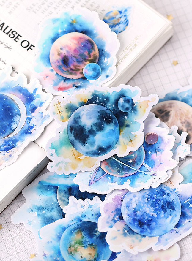 Planets Stickers Pack
