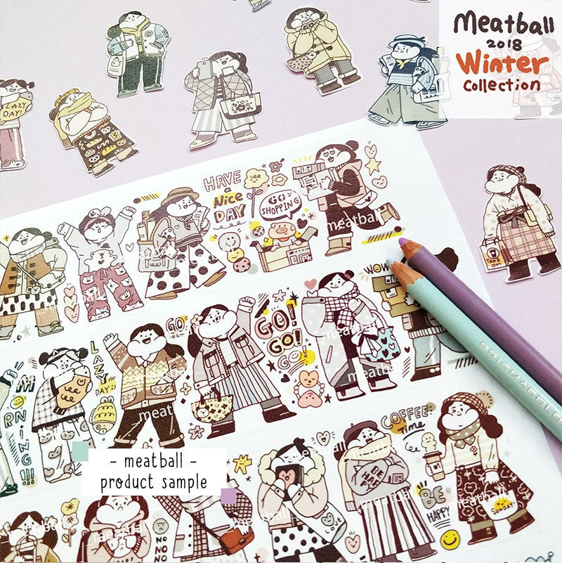 Meatball Washi Tape: Outfit of the Day