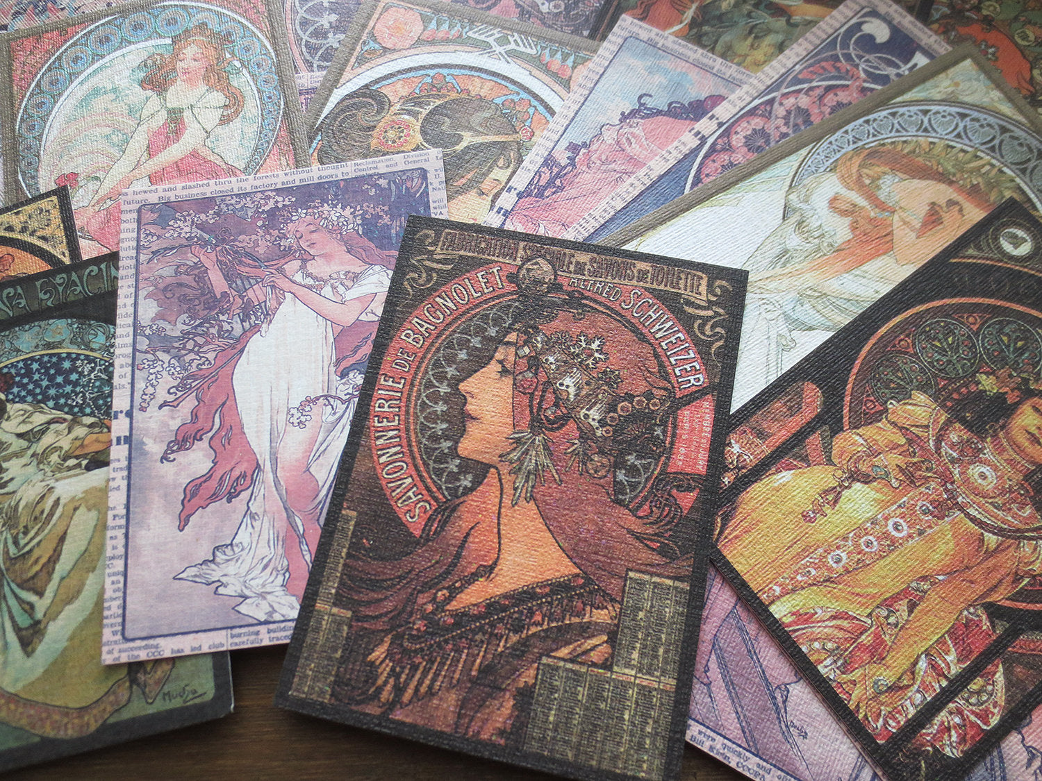 Alphonse Mucha Junk Journal Kit
