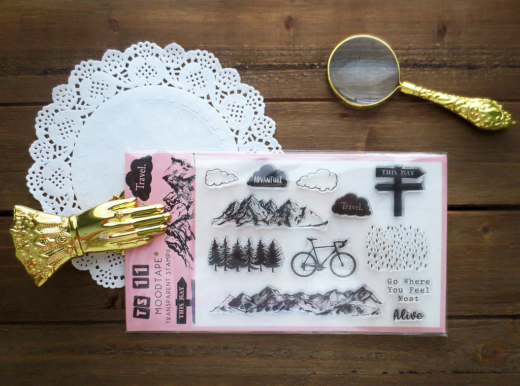Outdoor Adventure Acrylic Stamp Set
