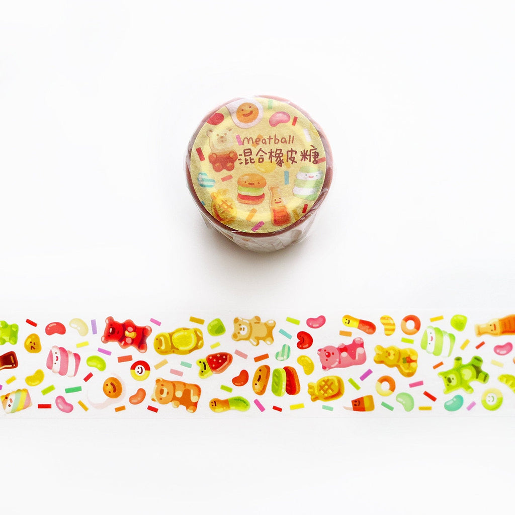 Meatball Washi Tape: Gummy Candy