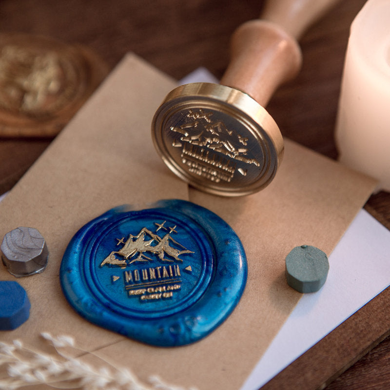 Nature Themed Wax Seal Stamp