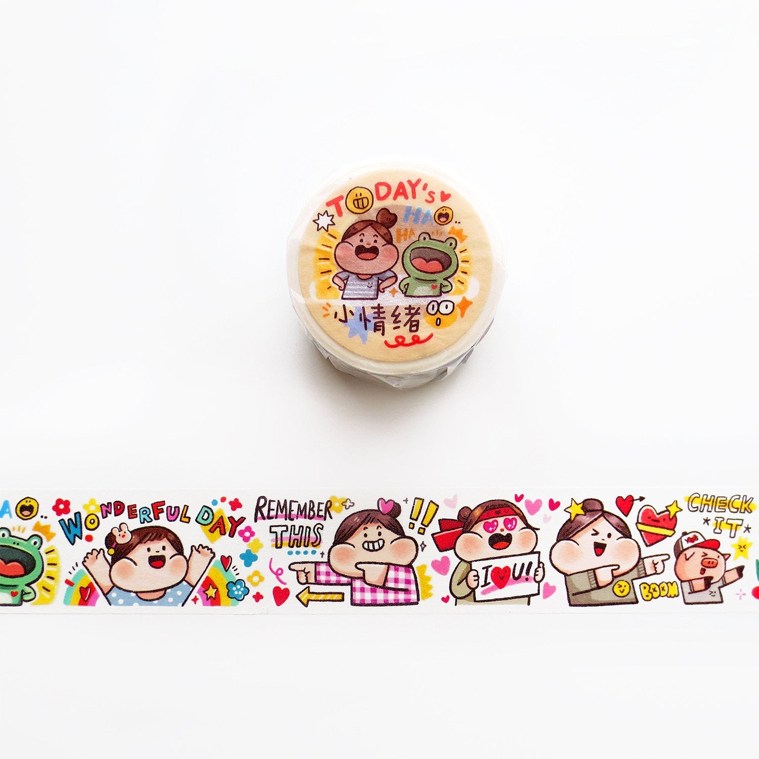 Meatball Washi Tape: Today's Mood
