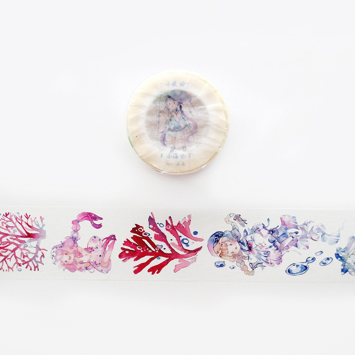 Jellyfish Girls 2 Washi Tape