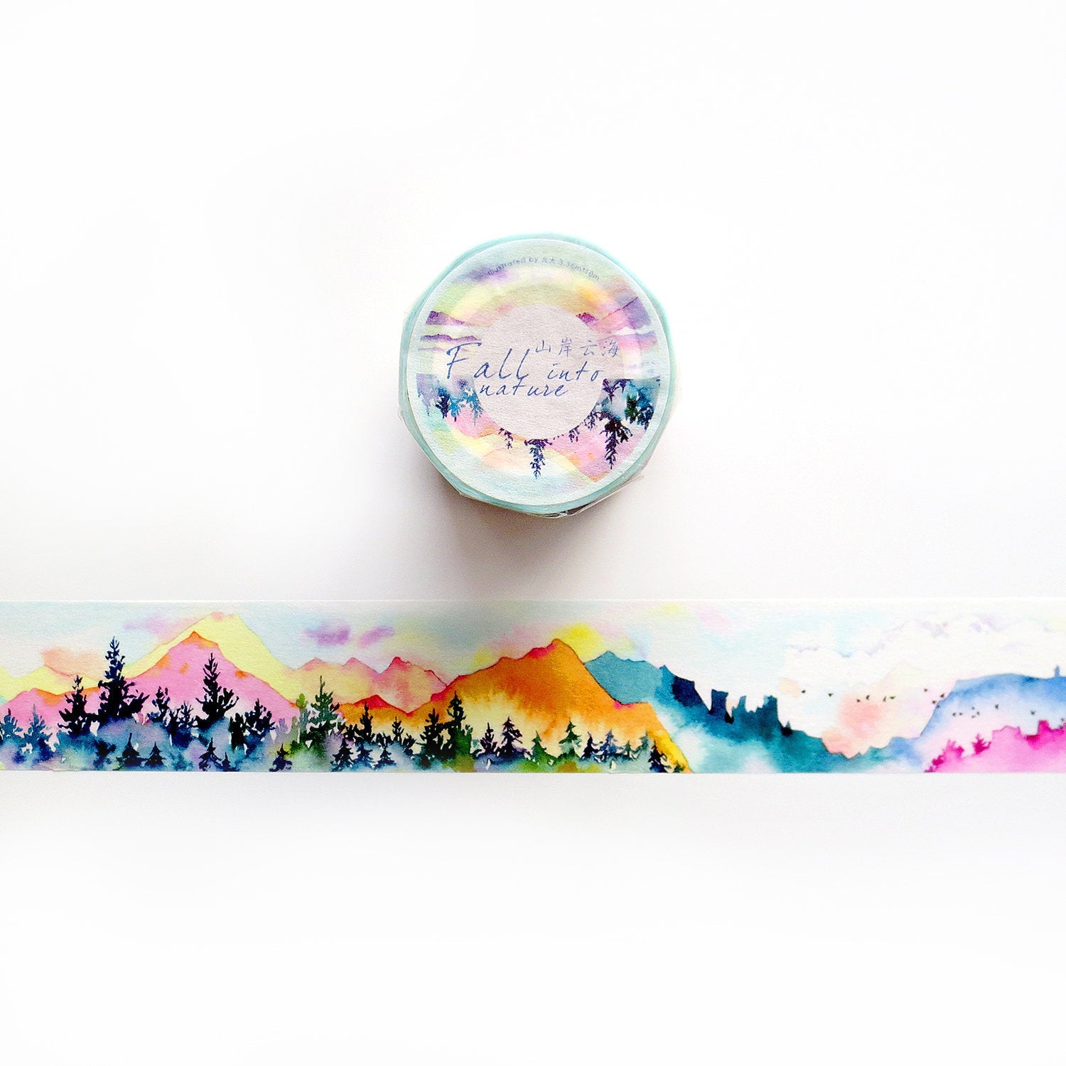 Fall Into Nature Washi Tape