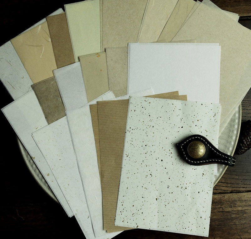 Assorted Cotton Paper Pack Paper