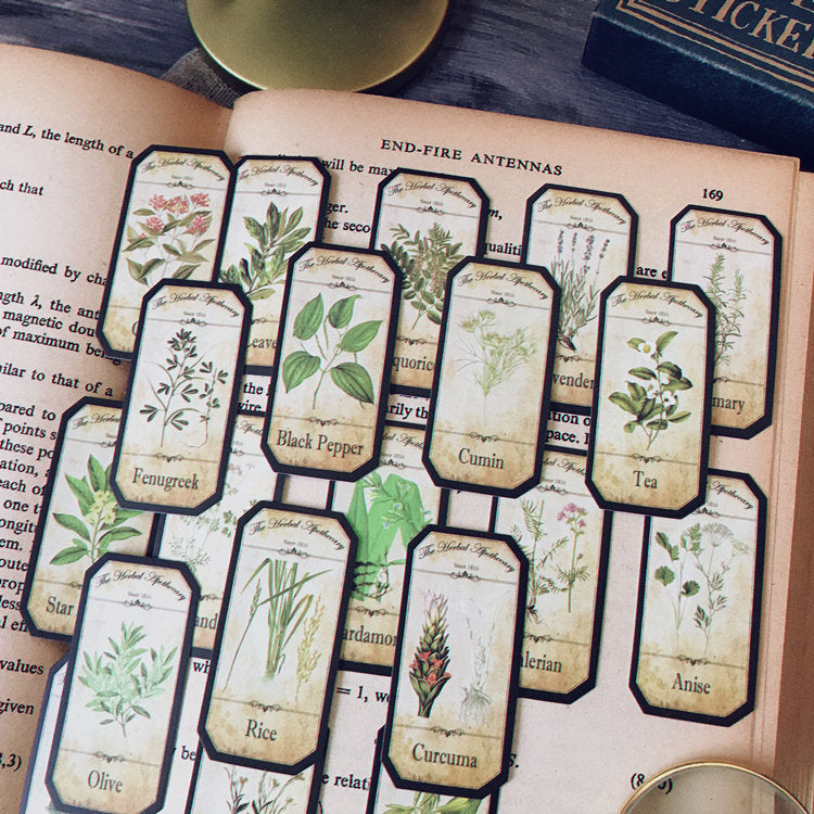 Herbal Apothecary Stickers Pack
