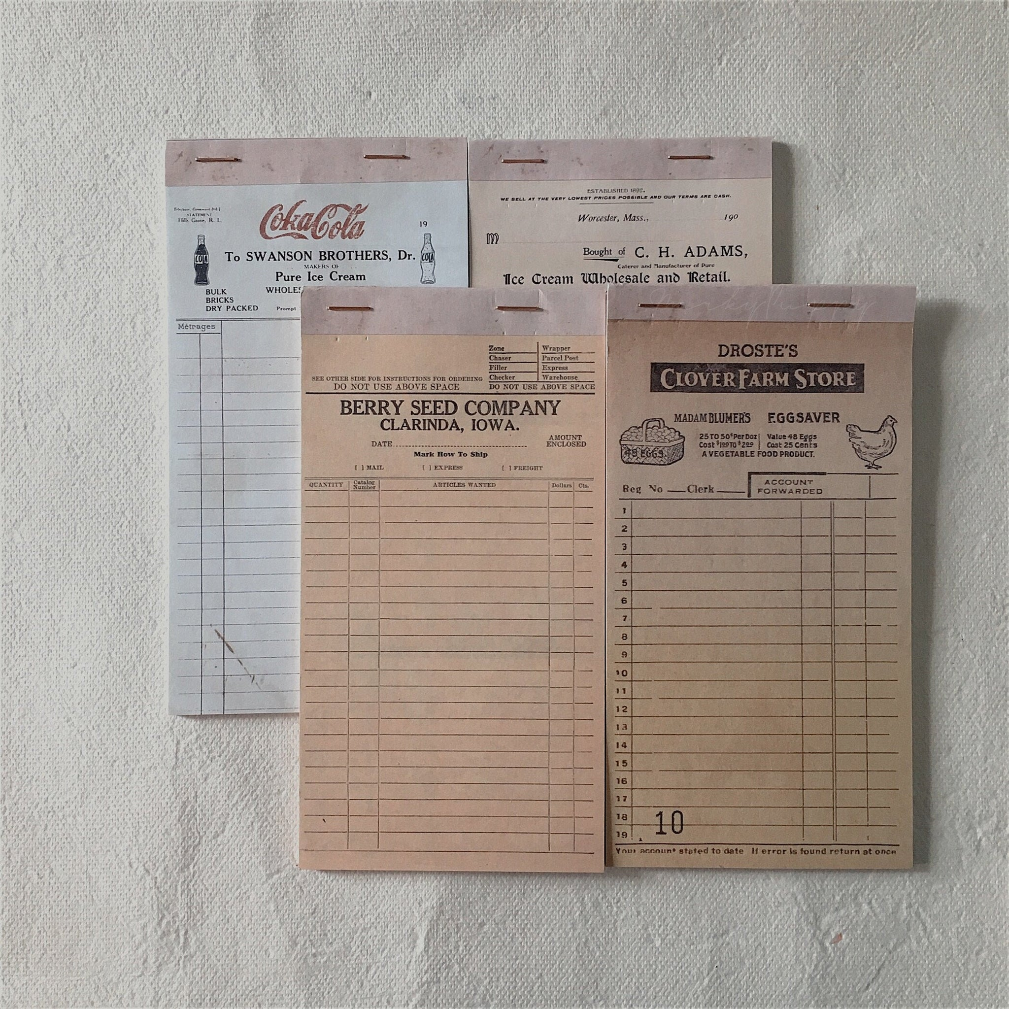 Vintage Ledger Notepad
