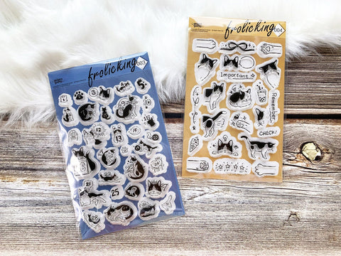 Frolicking Cats Acrylic Stamp Set 3 & 4