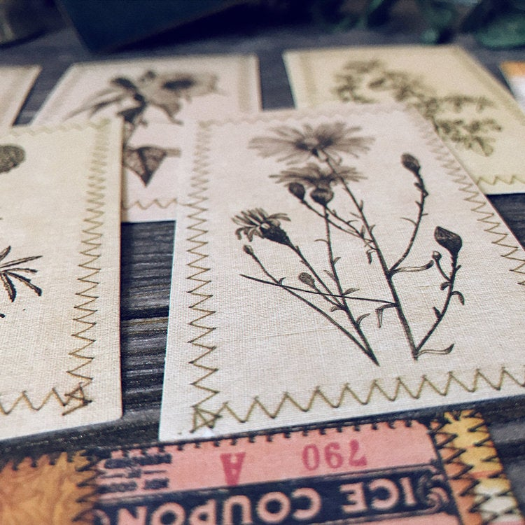 Plants Themed Journaling Cards