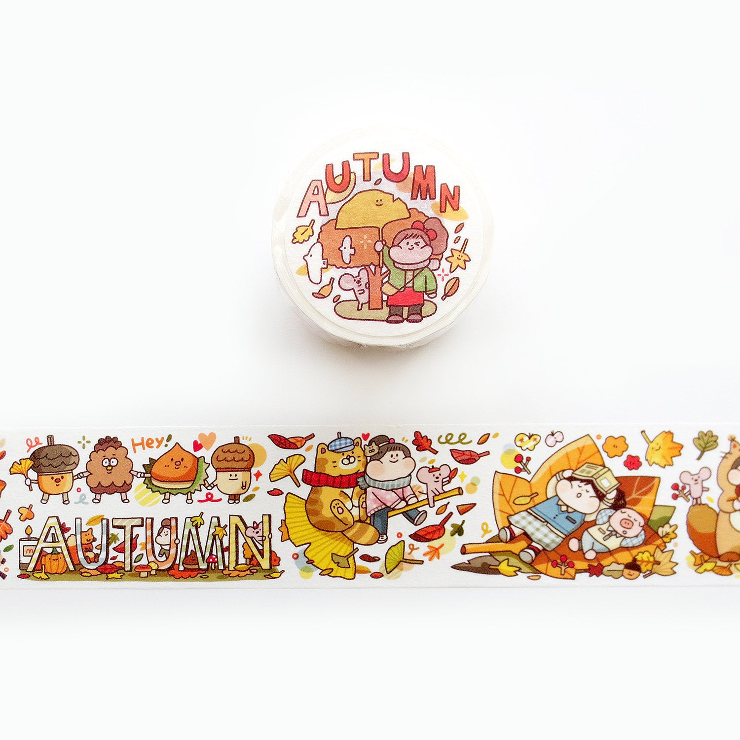 Meatball Washi Tape: Autumn