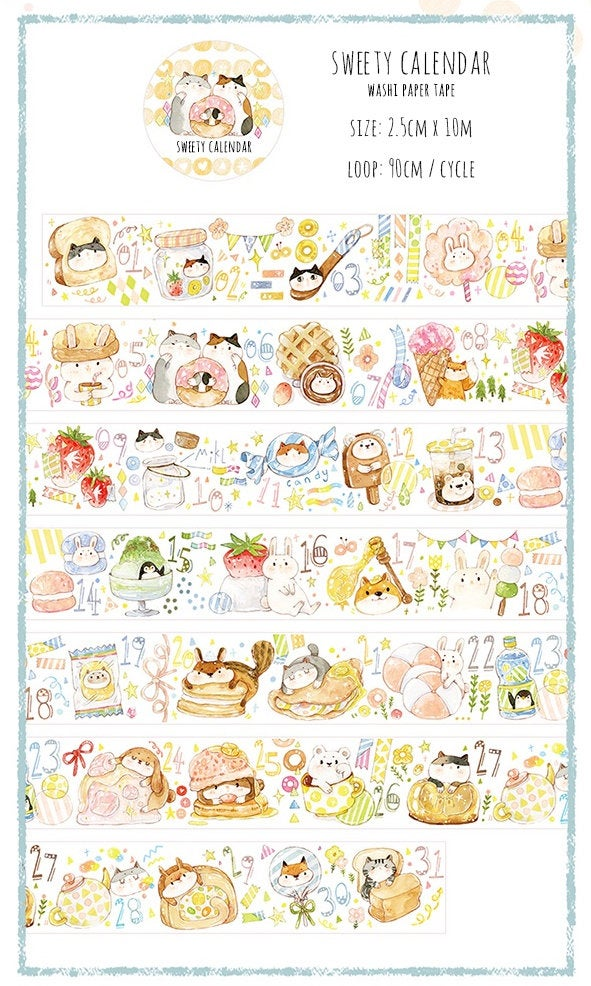 Out-of-Print Washi Tape Rolls H