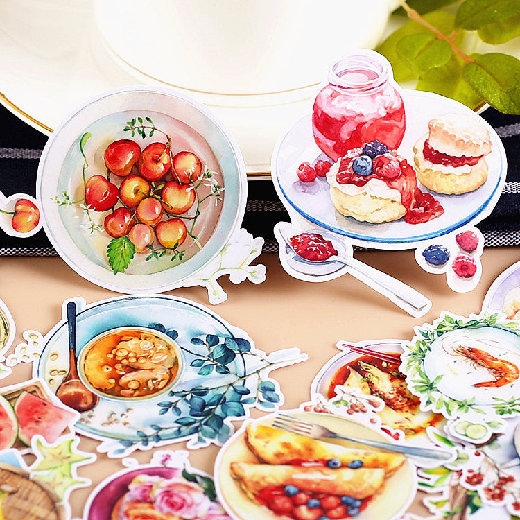Breakfast Around the World Stickers Pack