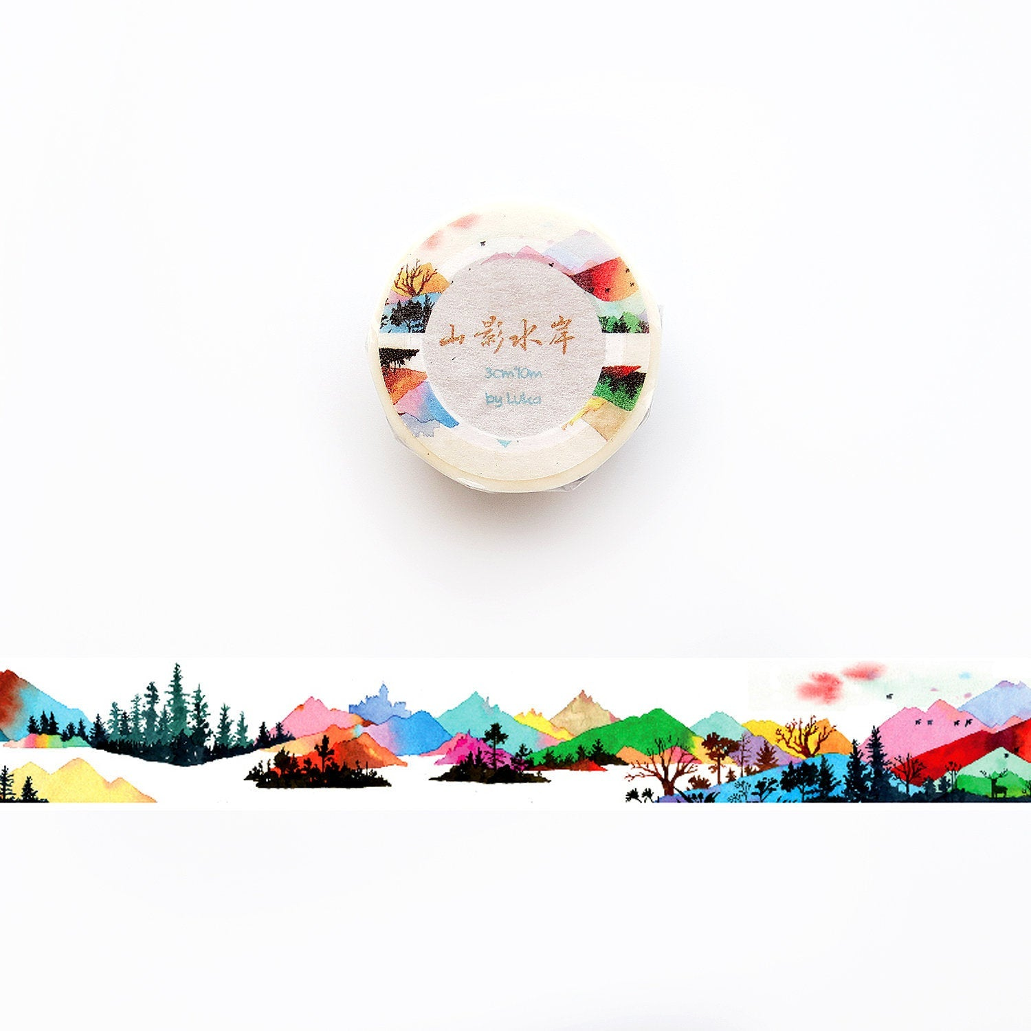 Views of the Mountain Washi Tape