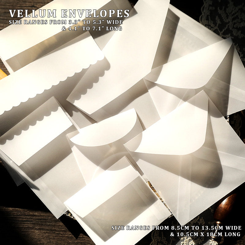 Kraft & Vellum Envelopes