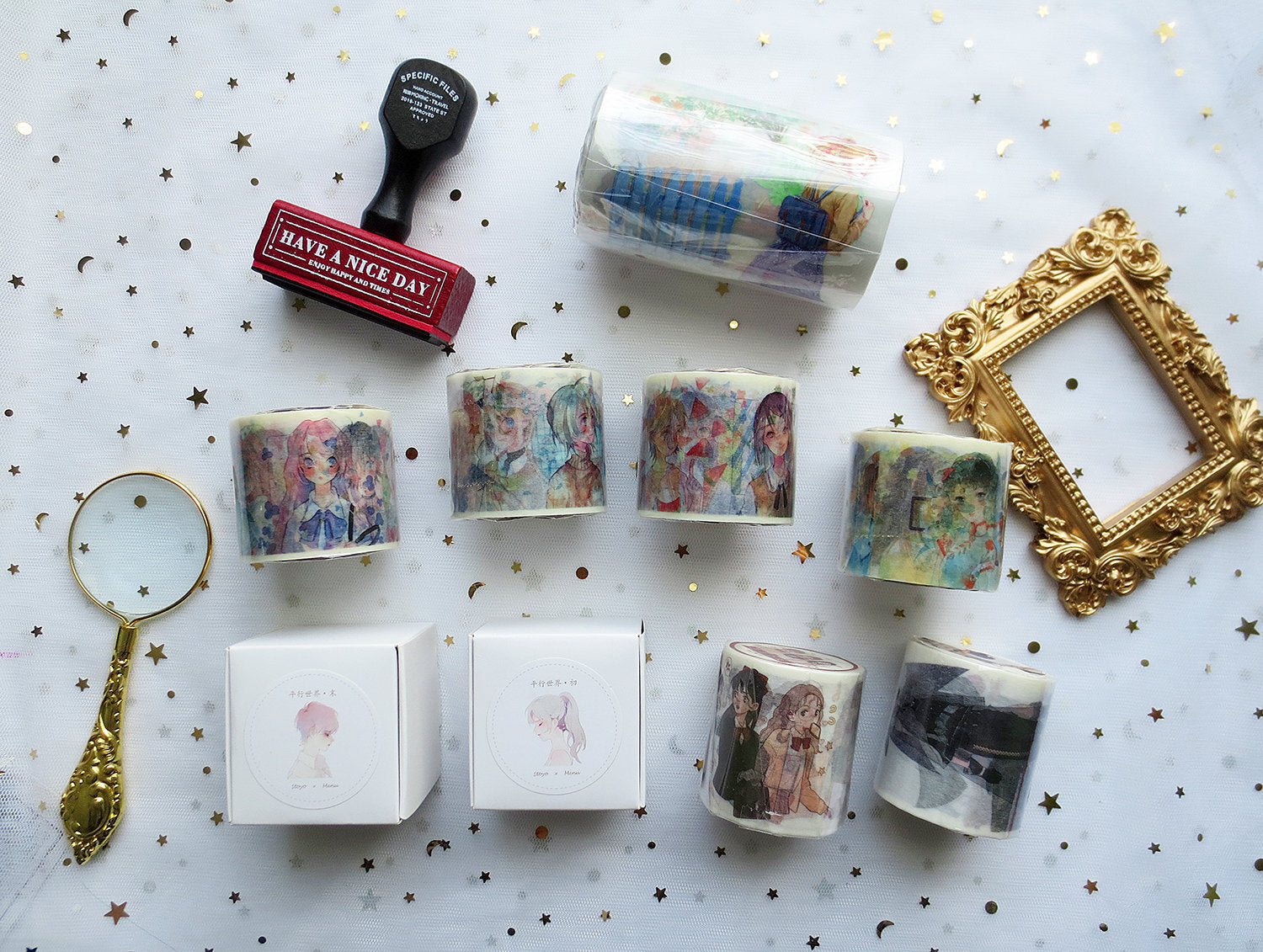 Out-of-Print Washi Tape Rolls P