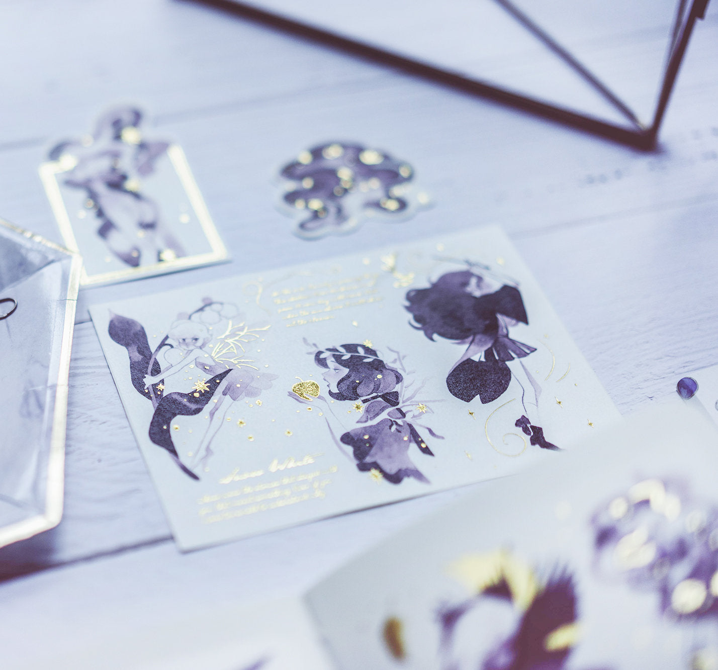 Golden Witch Sticker Sheets