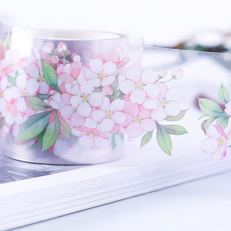 Cherry Blossom Clear Tape