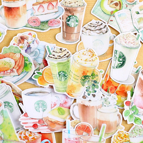 Starbucks Menu Sticker Pack