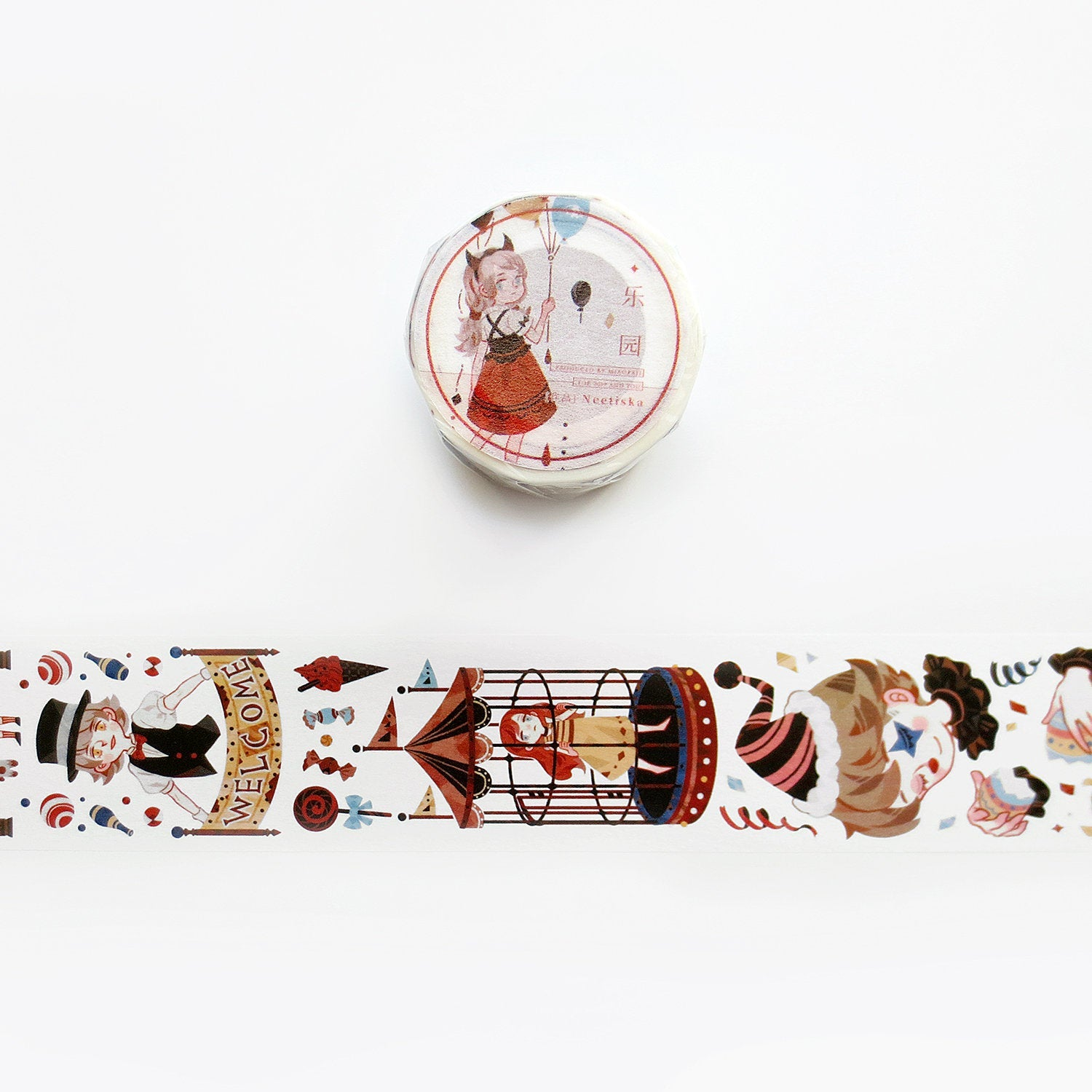 Neetiska Washi Tape: Amusement Park