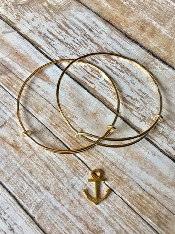 Anchor - Gold Bracelet
