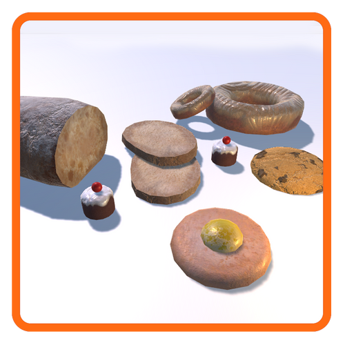 Bread & Cakes (6 items)
