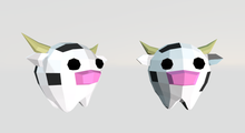 6 Cute Cows (rigged - animated)