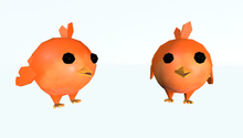 6 Cute Birds (rigged - animated)