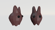 6 Cute Rabbits (rigged - animated)
