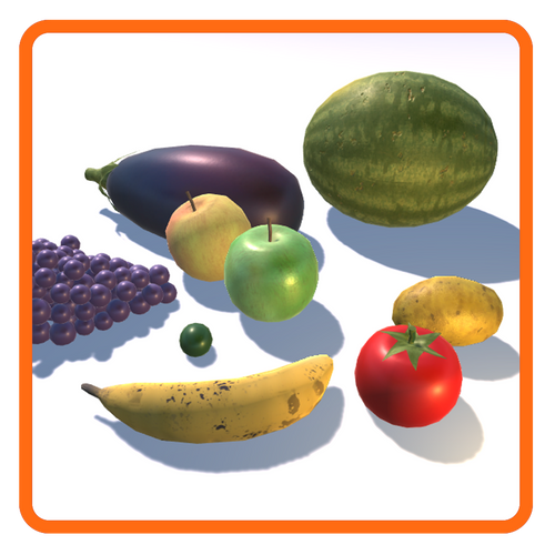 Fruit & Vegetable (9 items)