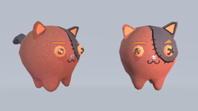6 Cute Cats (rigged - animated)