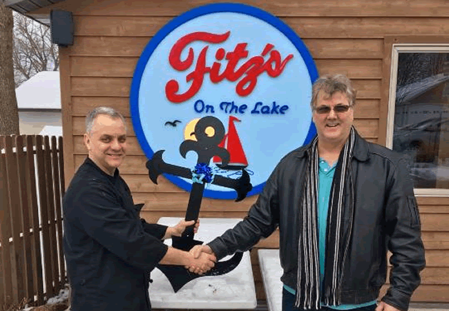 The Fitz Anchor Sold to Fitz's Restaurant