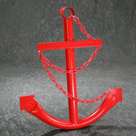 Red Anchor w/Chain
