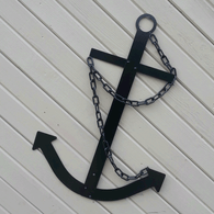Black Classic Navy Anchor