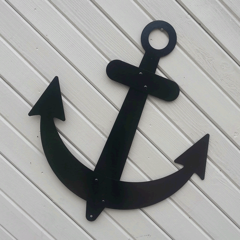Black Sailboat Anchor
