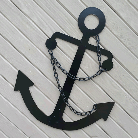 Black Wrecking Ball Anchor
