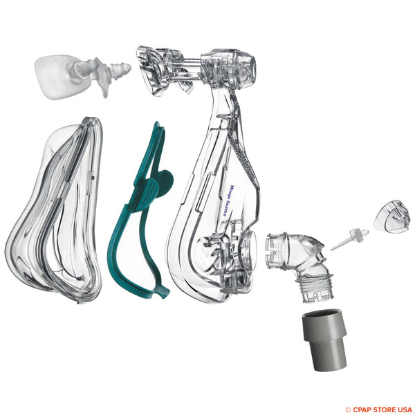 ResMed Mirage Quattro™ Full Face Mask Frame System-with Cushion Sold By CPAP Store USA www.cpapstoreusa.com