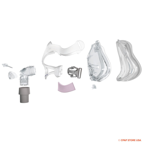 ResMed Quattro™ FX for Her Full Face Frame System Sold By CPAP Store USA www.cpapstoreusa.com